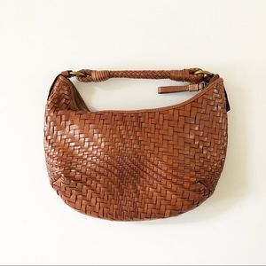 Cole Haan Genevieve woven hobo bag small